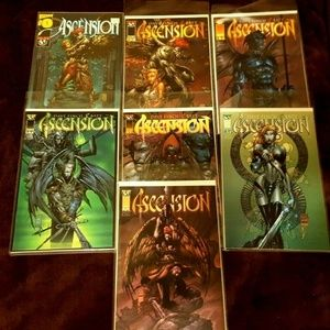 6 ASCENSION 0-6 Wizard Top Cow Comics Finch Art